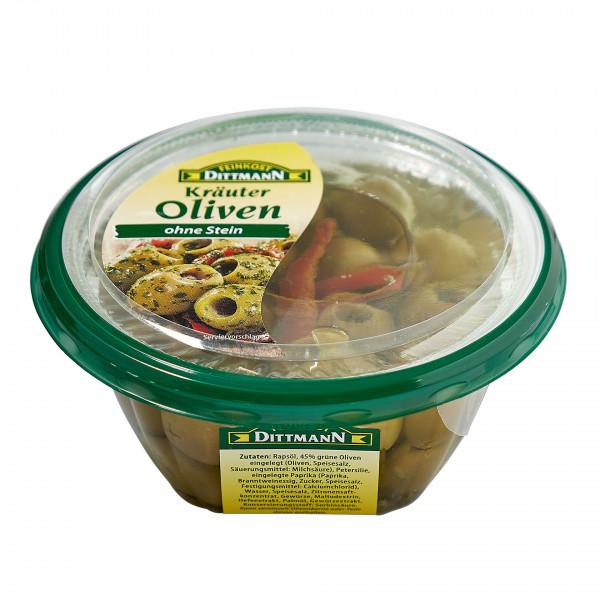 Antipasta Oliven grün