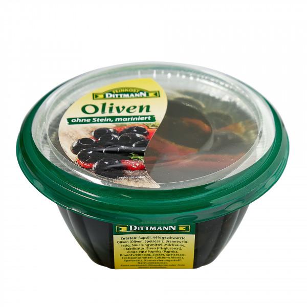 Antipasta Oliven schwarz