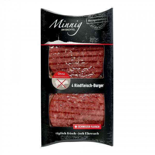 Rindfleisch Burger gebraten